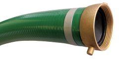 """1-1/2"""" x 20ft M&F NPSH PVC Suction Hose 1/EA"""