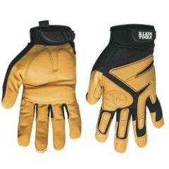 Klein Journeyman Leather Gloves, XL