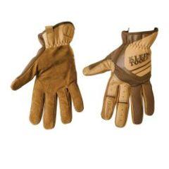 Klein Journeyman Leather Utility Gloves, L