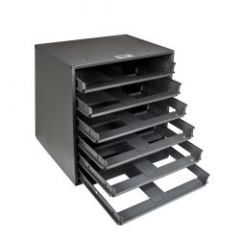 "Klein 6-Box Slide Rack 16-3/8"" Height"