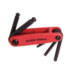 Klein Grip-It® Five Key Ball Hex Set - Metric