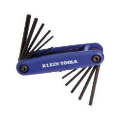 Klein Grip-It® 12 Key Hex Set - Inch/Metric