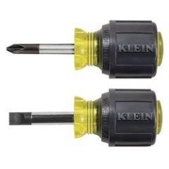Klein 2 Piece Stubby Screwdriver Set