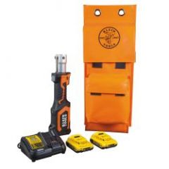 Klein Battery-Op 7-Ton Cable Cutter/Crimper, No Heads