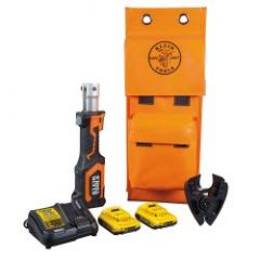 Klein Battery-Op 7- Ton Cable Cutter, Cu/Al