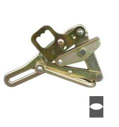 "Klein 0.20""-0.40"" 4,500lb Safe Load Chi Grip w/Latch&Spring 2/PK"