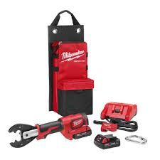 Milwaukee M18 FORCE LOGIC 6T UTILITY CRIMPING KIT WITH D3 GROOVES AND FIXED BG DIE