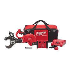 "Milwaukee M18 FORCE LOGIC 3"" UNDERGROUND CABLE CUTTER WITH WIRELESS REMOTE"