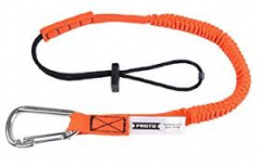 Proto® Elastic Lanyard With Stainless Steel Carabiner - 15 lb. 10/BX