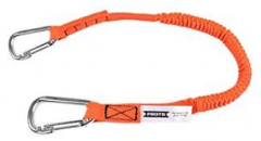 Proto® Elastic Lanyard With 2 Stainless Steel Carabiners - 25 lb. 10/BX