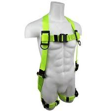 SAFEWAZE PRO+ Arc Flash Dielectric Harness with Quick-Connect Chest and Leg Buckles: 2XL