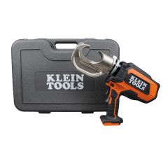 Klein Battery-Operated 12-Ton Crimper with Case