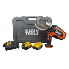 Klein Battery-Operated 12-Ton Crimper Kit