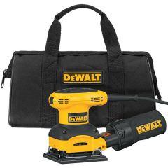 DeWALT 1/4 Sheet Palm Grip Sander Kit 1/EA