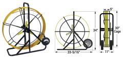 """DCD 500ft Deluxe Duct Rodder 5/16"""" Diameter 1/EA"""