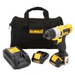 "DEWALT 12V MAX* Lithium Ion 1/4"" Screwdriver Kit"