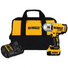 DEWALT 20V Max XR Li-Ion Brushless High Torque 1/2 in. Impact Wrench with Dentent Pin Anvil (4.0 Ah)