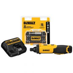DEWALT 8-Volt Max Lithium-Ion 1/4 in. Cordless Gyroscopic Screw Driver