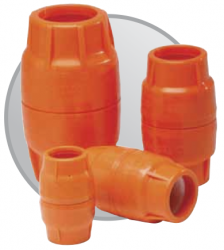 Dura-Line CO PUSH-LOCK 1.25 ORANGE FITS 1.660 OD  50/CS