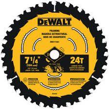 DEWALT 7 ¼ 24T NEW DEWALT CIRC SAW BLADE 10PK