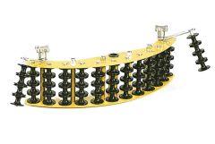 Jameson Corner Block - Dual, Aluminum Roller, 90 Degree