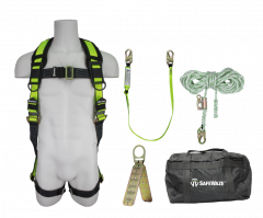 SAFEWAZE Basic Roofers Kit with Carrying Bag (FS280, FS560, FS700-50GA, FS870, FS8150)