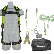 SAFEWAZE Pro Roofers Kit with Carrying Bag (FS285, FS560, FS700-50, FS1118, FS870, FS8150)