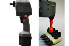 Huskie ROBO IMPACT WRENCH W/ LITHIUM ION BATTERIES AND AC CHARGER - Consisting Of: