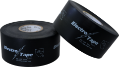 "Electro-Tape  2""  (50 mm)      x 100 ft 10mil General Purpose PVC Pipe Wrap Tape - Black 24/CS"