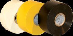 """Electro-Tape  4""""  (100 mm)   x 100 ft 20mil Premium PVC Pipe Wrap Tape - Black 12/CS"""