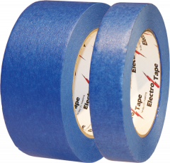 "Electro-Tape 1 ½"" (36 mm) x  60 yd 14-Day Blue Clean Removal Masking Tape 32/CS"