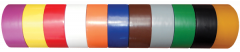 """Electro-Tape 1/2"""" (12 mm)     x 36 yd Solid Color PVC Marking Tape - Orange 96/CS"""
