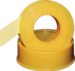 "Electro-Tape 1/2"" x 260 in  Gas Line Grade PTFE Pipe Thread Seal Tape 500/CS"