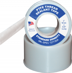 "Electro-Tape 1/2"" x 520 in Contractor Grade PTFE Pipe Thread Seal Tape 1000/CS"