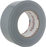 """Electro-Tape 2"""" (48 mm) x 30 yd 8mil Utility Grade Duct Tape Silver 24/CS"""