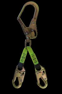 """SAFEWAZE 18"""" Forged Steel Snap Hook Web Assembly"""