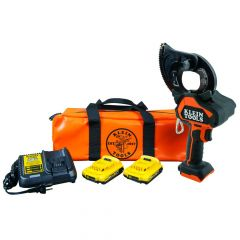 Klein Battery-Operated EHS Closed-Jaw Cutter, 2 Ah