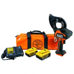Klein Battery-Operated EHS Closed-Jaw Cutter, 4 Ah