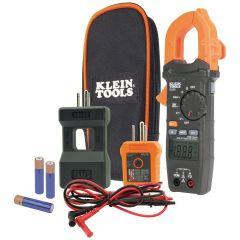 Klein Clamp Meter Electrical Test Kit