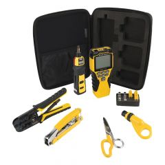 Klein VDV Apprentice Cable Installation Kit with Scout® Pro 3, 6-Piece
