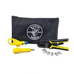 Klein Twisted Pair Installation Kit with Zipper Pouch
