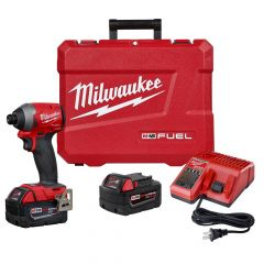 Milwaukee M18 FUEL 1/4 HEX IMP DRIVER KIT W/2 XC BAT