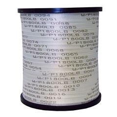 """5/8"""" x 3000' Woven Polyester Pulling Tape 1800LB Break Strength 1/RL"""