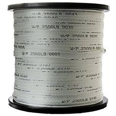 """3/4"""" x 3000' Woven Polyester Pulling Tape 2500lb Break Strength"""