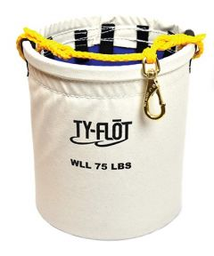 Ty-Flot Anti-spill Bucket with 10 Key Rings 1/ea