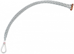 "Slingco Single weave Underground Pulling Grip With Barbell .25-.50"" Diameter   18"" Lattice length 1/EA"