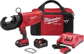 Milwaukee M18™ FORCELOGIC™ 12T Utility Crimpers in stock!!